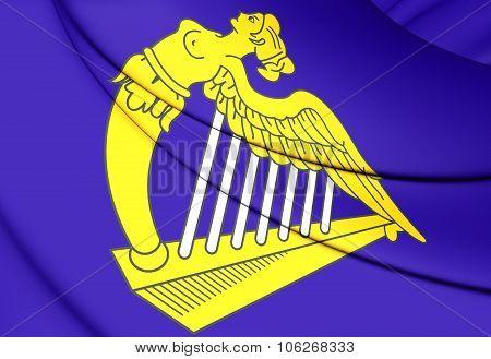 Celtic harp flag