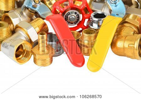 Plumbing fitting and ball valve