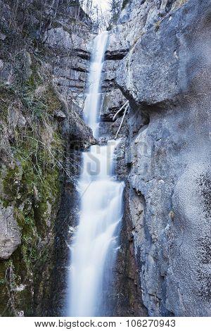 Waterfalls In Hallstatt