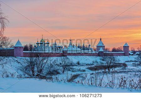 Monastery Of Saint Euthymius, Suzdal, Russia