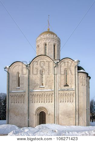 Cathedral Of Saint Demetrius, Vladimir, Russia