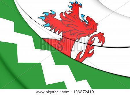 Flag Of Westland (south Holland), Netherlands.