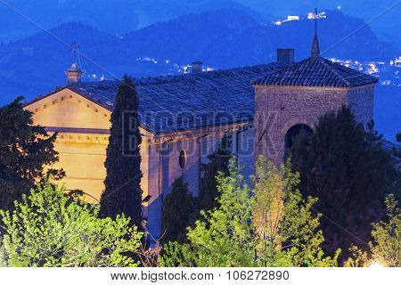 Basilica Di San Marino In San Marino