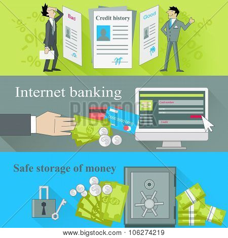 Internet Banking and Safe Storage Money