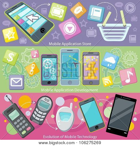 Mobile Application Store and Development