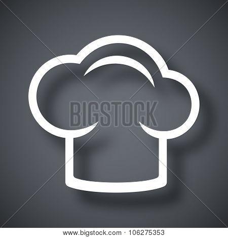 Vector Chef Cap Icon