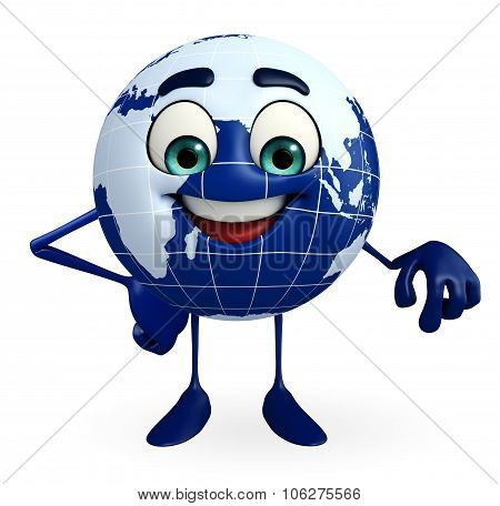 Globe Character