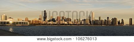 Chicago Morning Panorama