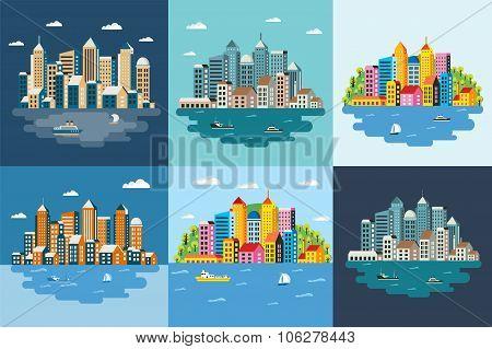 Megapolis landscape