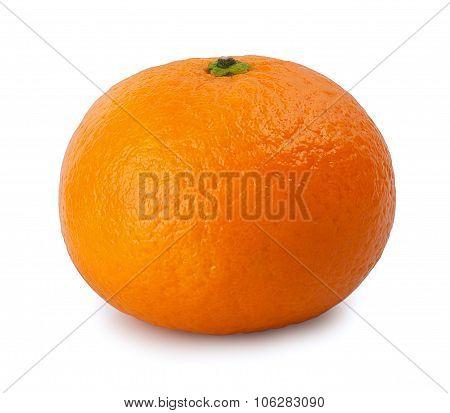 Mandarine Isolate On  White Background