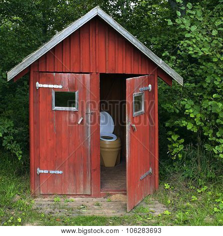 Open-air Toilet.