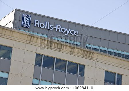 INDIANAPOLIS - CIRCA OCTOBER 2015: Rolls-Royce Corporation Indianapolis IN II