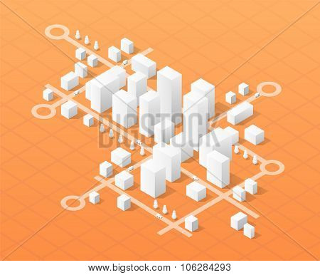 Print skyscraper