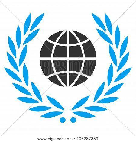 Global Emblem Icon