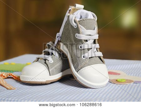 baby boy christening shoes