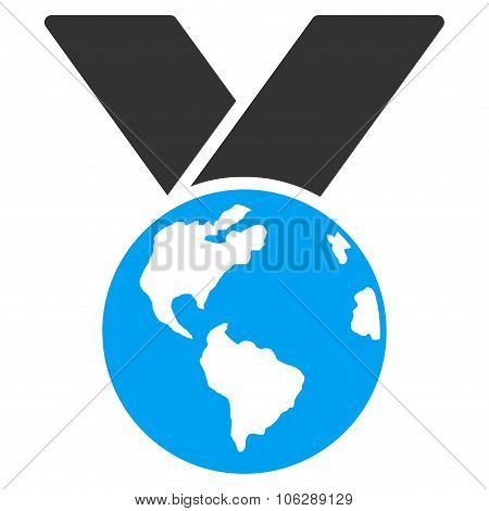 World Medal Icon
