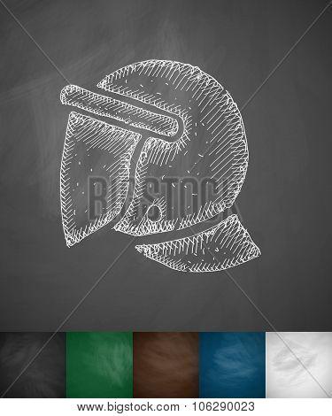 crash helmet icon