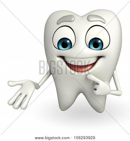 Teeth Character Is Presenting
