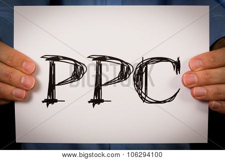 Person Holding Ppc Sign