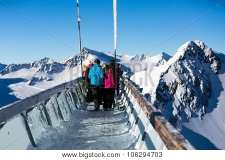 Skywalk At Tiefenbachkogl