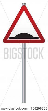 Bump Ahead Signpost