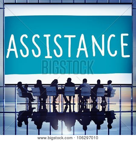 Assistance Ambition Help Support Partnership Concept