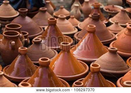 Many Tagines In Morocco