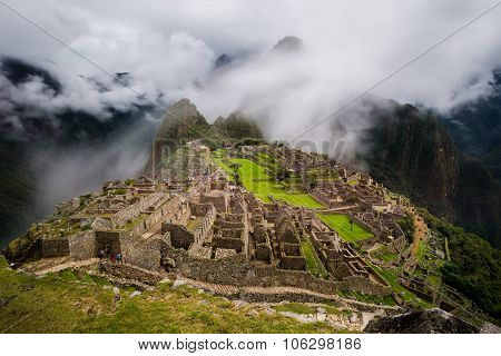 View Over Machu Picchu