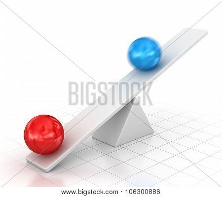 Balance With Ball