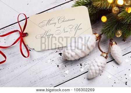 Art Christmas Holidays Sale; Tree Light Background;