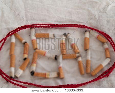 Tobacco, Dead, Cigarettes, Bringing The Death.