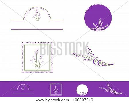 Lavender Design Set