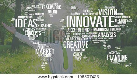 Innovate Inspiration Creativity Ideas Progress Concept