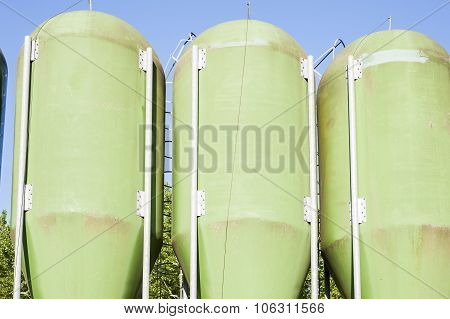 Agricultural Green Silos