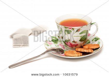 Light Tea-drinking