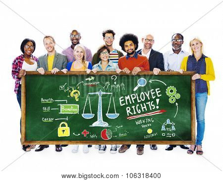 Employee Rights Employment Equality Job Students Education Concept