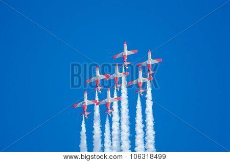 Patrulla Aguila Acrobatic Squadron