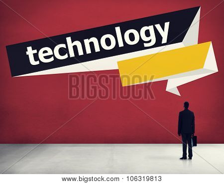 Technology Advanced New Model Internet Development Mobile Electronic Devices Innovation Concept