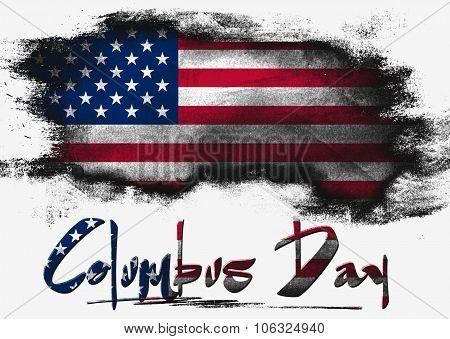 Flag Of United States, Usa Columbus Day