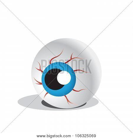 Halloween eye ball