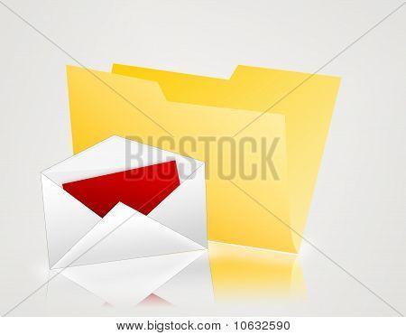 yellow folder