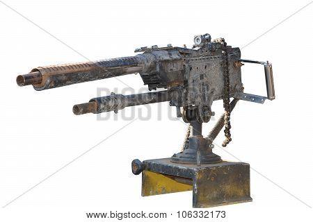Comic Model Of A Light Machine Gun
