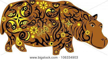 Hippopotamus, to hypostalemates, animal