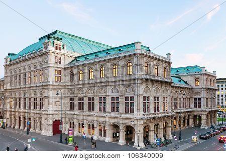 Vienna State Opera From Albertinaplatz, Vienna