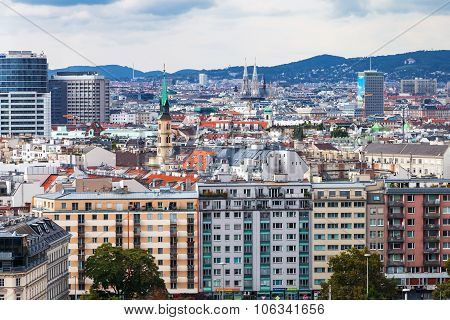 View Of Vienna City, Austria
