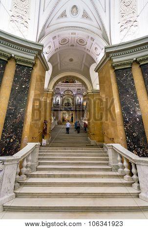 Steps In Naturhistorisches Museum, Vienna