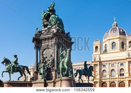 Maria Theresa Sculpture And Museum Natural History