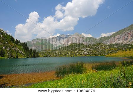 Colorful Sary-Chelek Lake