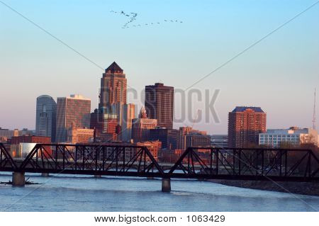 Des Moines, Iowa, Skyline