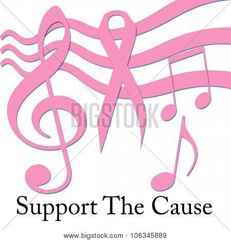 pink ribbon cause